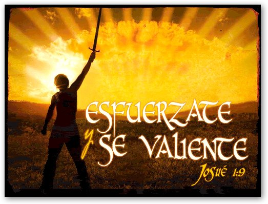 Resultado de imagen para JOSUE 1: 1 - 9