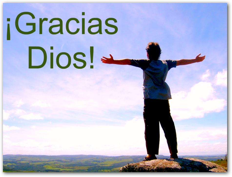 gracia a dios: