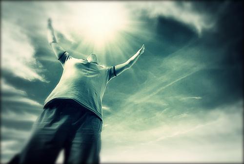 feliz con Dios