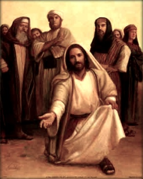 Jesús preguntando