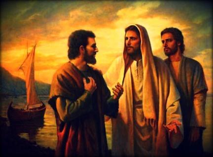 Jesús, Juan y Pedro