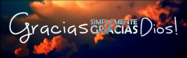 agradecido con Dios